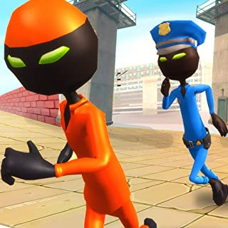 Shadow Prison Jail Break: Stickman Prisoner Action Game 3D