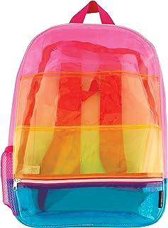 Fashion Angels Girls' Striped, Transparent Rainbow