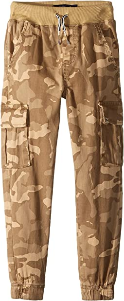 Camo Cargo Jogger Pants (Little Kids/Big Kids)