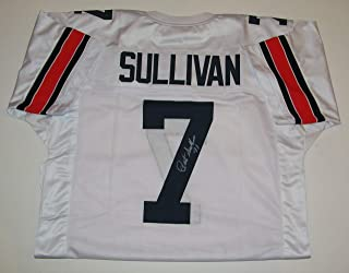 Pat Sullivan Signed Autographed Auto Auburn Tigers Football White Jersey w/71 - GTSM
