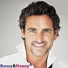 Rossy&Nancy European Virgin Human hair Toupee for Men with 10x8