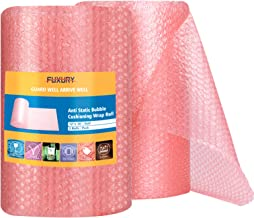 Pack of 150 23.5 Length Pink 12 x 23 1//2 12 Width Ship Now Supply SNBOB1223AS Anti-Static Bubble Pouches