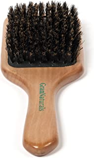 GranNaturals Boar Bristle Hair Brush for Women and Men – Natural Wooden Large Flat..
