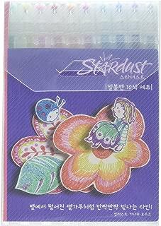 Sakura Gelly Roll Nebulosa Purpurina Bolígrafos de Gel – Cartera de 10 Varios Colores – Metales Preciosos y Unicornio Set