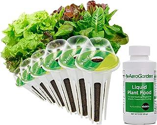 AeroGarden Heirloom Salad Greens Seed Pod Kit, 6