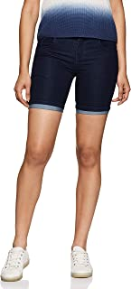SLVETE Women's Denim Slim Fit Shorts