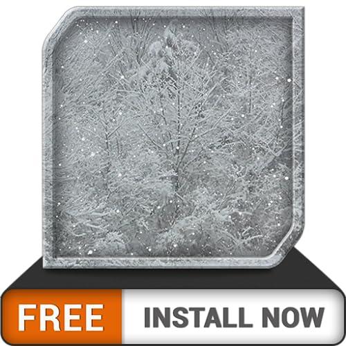 schwerer kostenloser schneefall - genieße die winterweihnachtszeit auf deinem hdr 8k 4k fernseh- und feuergerät als hintergrundbild und thema für mediation und frieden