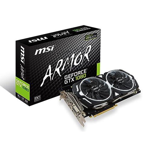 MSI GeForce GTX 1080 Armor 8G OC - Tarjeta Gráfica Armor