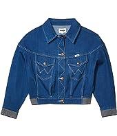Modern Jean Jacket Crop