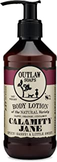 Calamity Jane Natural Lotion: Smells like Whiskey, Clove, Orange, and a Little Cinnamon