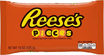 REESE'S PIECES Chocolate Peanut Butter Candy, 15 Ounce
