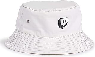 Twitch Bucket Hat pour streamers et joueurs vidéo en direct – Beige