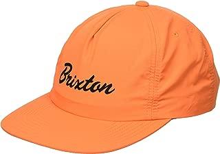 Men's Blaine HIGH Profile Unstructured Adjustable HAT, Orange, O/S