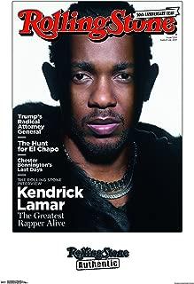 Trends International Rolling Stone Magazine - Kendrick Lamar 17 Wall Poster, 22.375