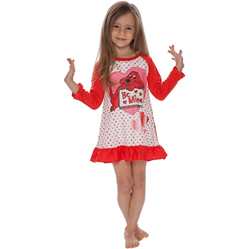 7e22ed9216 Clifford Girls  Toddler Mine  Valentines Day Pajama Nightgown