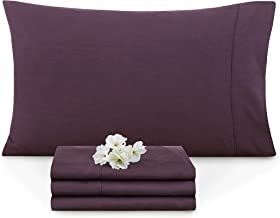 Empyrean Bedding Set of 2 Premium Standard-Size Pillowcases Microfiber Linen, Hypoallergenic & Breathable Design, Soft & C...