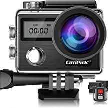 Campark X20 4K Action Camera 20MP with EIS Touch Screen Remote Control Waterproof Camera..
