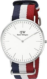 Daniel Wellington丹尼爾惠靈頓 男士 0208DW 模擬顯示 日本石英多色手表