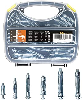T.K.Excellent Multiple Sizes Hollow Wall Anchor Assortment Kit
