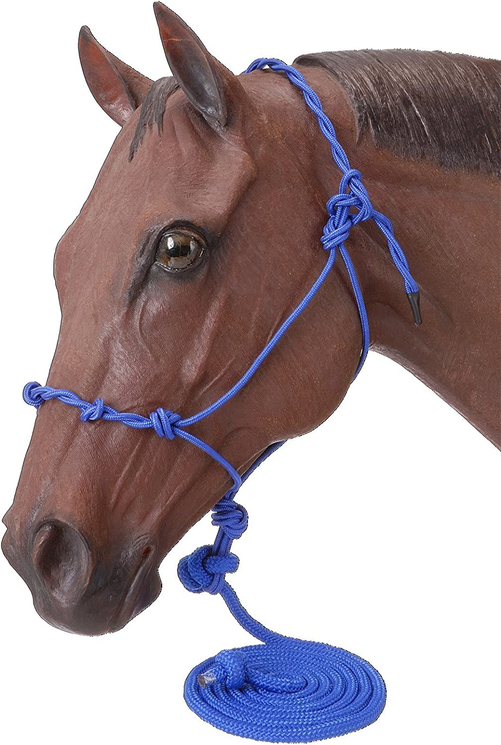 Tough 1 Brand Cheap Sale Venue Limited Special Price Poly Rope Halter 14Ft W Lead Knots