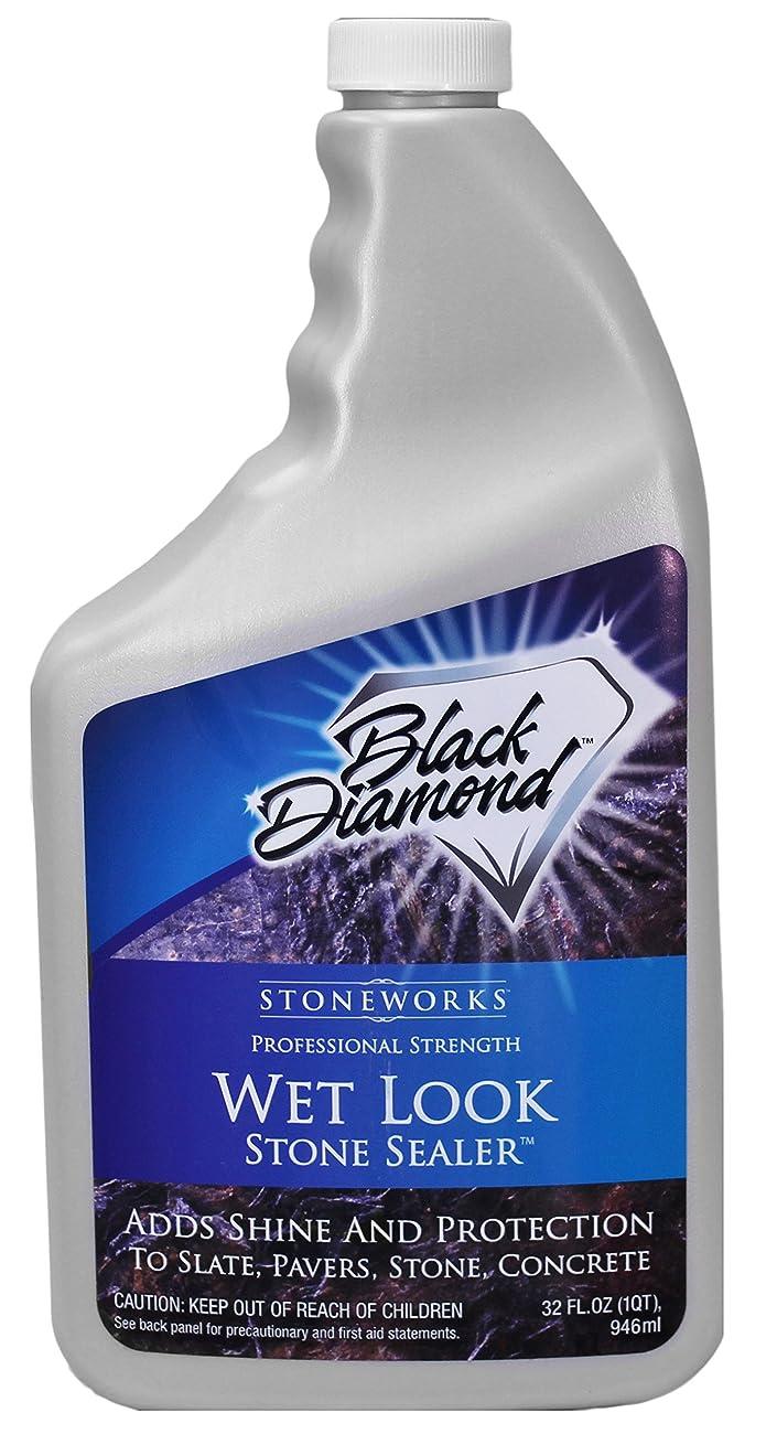 運動するわな前文Wet Look Natural Stone Sealer From Black Diamond Stoneworks Provides Durable Gloss and Protection to: Slate, Stone, Concrete, Brick, Block, Sandstone, Driveways, Garage Floors. Interior or Exterior. by Black Diamond