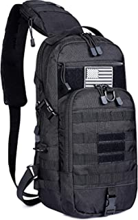 G4Free EDC Bag Tactical Sling Fishing Tackle Molle Chest Pack Outdoor Daypack