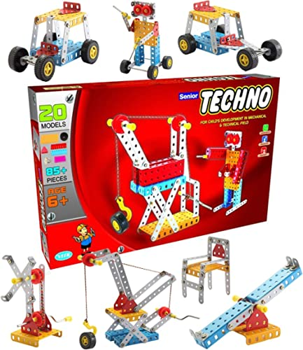 class fun- senior techno - engineering toy kit - educational toy - building blocks and models construction set (age 5...