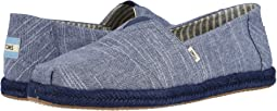 Navy Rugged Chambray on Mono Rope