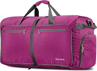 Gonex 150L Travel Duffel Bag Foldable Extra Large Duffle Bag XL Heavy Duty for Men Women for Luggage Shopping