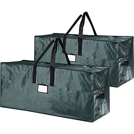 Elf Stor 83-DT5541 5098 Premium Christmas Bag Holiday Extra Large for up to 9 Ft Tree, Green