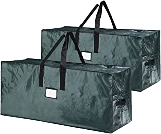 Elf Stor 83-DT5541 5098 Premium Christmas Bag Holiday Extra Large for up to 9 Ft Tree, Green, 2 Count