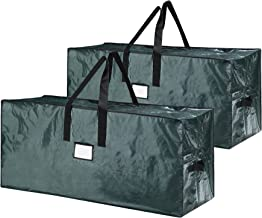 Elf Stor Bag for Christmas Tree Storage, (2) Large Bags - Green