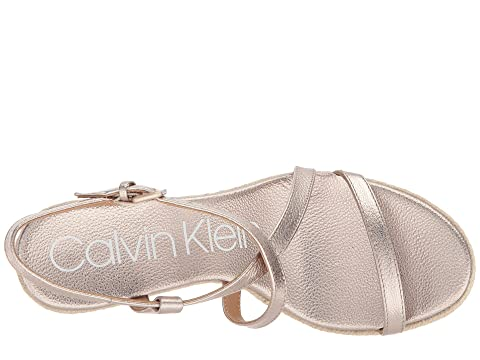 Klein Platinum Soft Bellemine Wedge Calvin Espadrille nHY0qfwn8