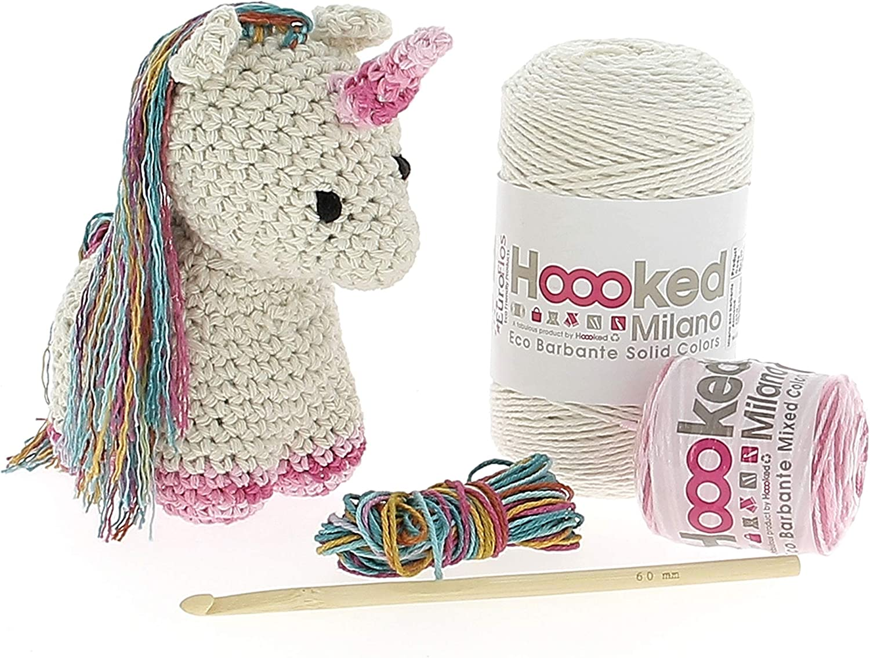 Excellence Lowest price challenge Hoooked Unicorn Yarn Crochet Kit Nora