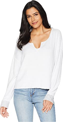 Beach Terry Reversible Split-Neck Sweatshirt