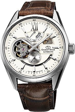 [オリエント]ORIENT 腕時計 ORIENTSTAR オリエントスター セミスケルトン 機械式 自動巻(手巻付) アイボリー WZ0291DK メンズ