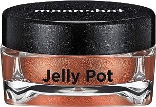 ムーンショット(moonshot) ブラックピンク ゼリーポット パールタイプ アイシャドウ Jelly Pot Pearl Type Eyeshadow (P09 ディープモーメント Deep Moment)