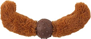 Doggles Straight Mustache Toy for Dogs, Rust
