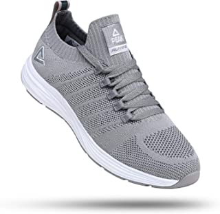 Mens Lightweight Walking Shoes Comfortable Slip On Sports Sneakers for Tennis, Gym, Running, Casual Workout