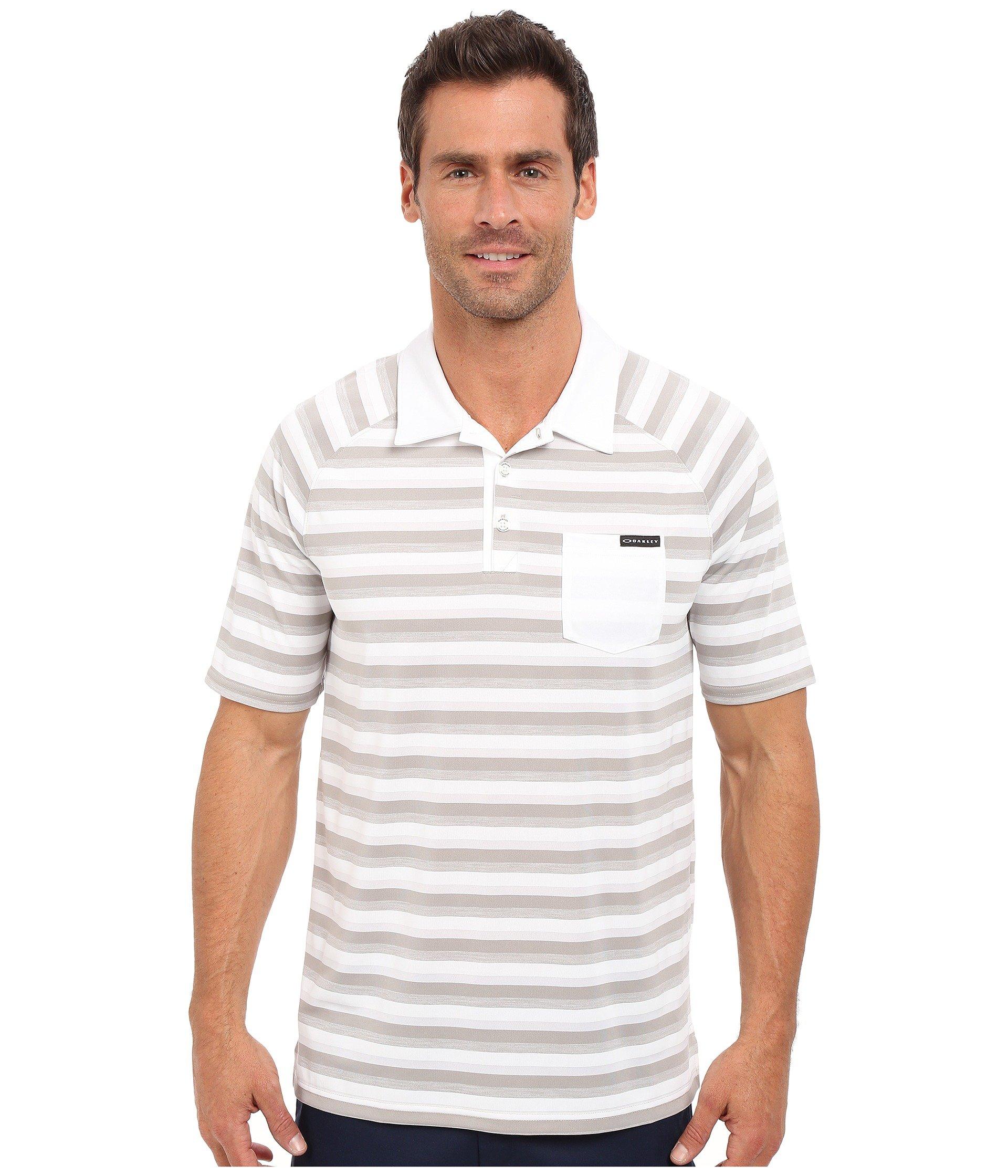 Camiseta Tipo Polo para Hombre Oakley Ace Stripe Polo  + Oakley en VeoyCompro.net
