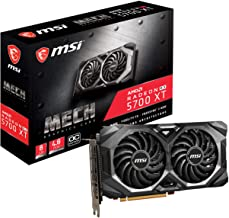 MSI Gaming Radeon Rx 5700 Xt Boost Clock: 1925 MHz 256-bit 8GB GDDR6 DP/HDMI Dual Fans Crossfire Freesync Navi Architectur...