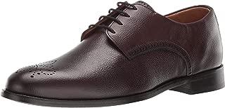 MARC JOSEPH NEW YORK Mens Leather Lace-up Wingtip Dress Shoe Oxford