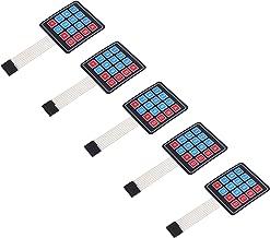 5Pcs 4 x 4 Matrix Array 16 Key Membrane Switch Keypad Keyboard for Arduino AVR PI C