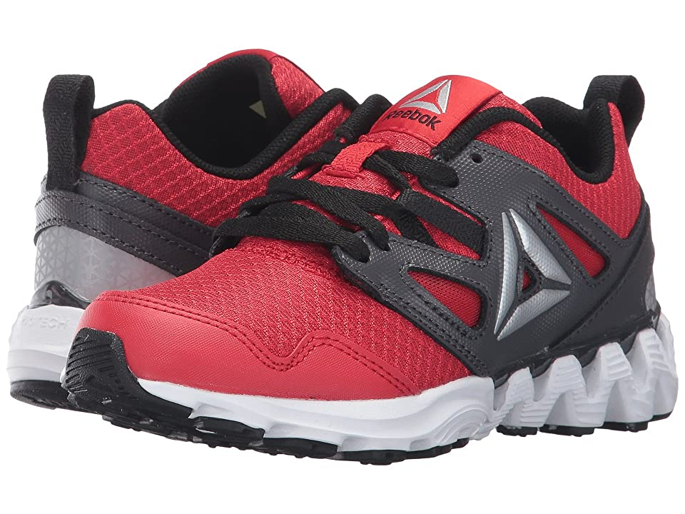 Reebok Kids Zigkick 2K17 (Little Kid) (Primal Red/Ash Grey/Black/White/Silver) Boys Shoes
