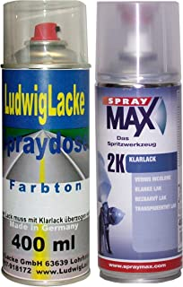 896 Bluewater für BMW Premium Spray Set Autolack & 2K Klarlack je 400ml