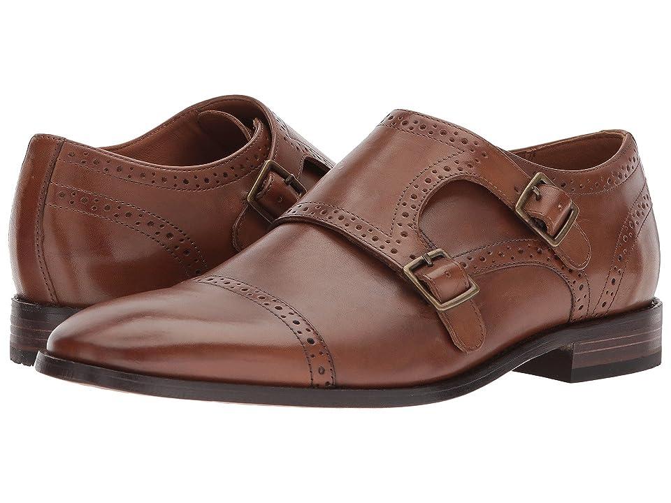Bostonian Nantasket Monk (Dark Tan Leather) Men