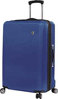 Mia Toro Italy Moda Hardside 28 Inch Spinner Luggage, Blue