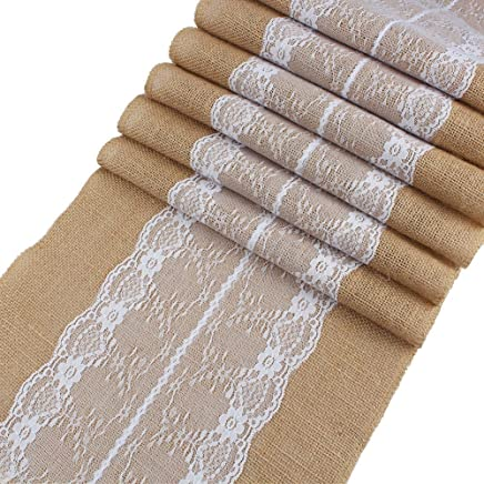 Amazon Com Rustic Christmas Table Runners Kitchen Table