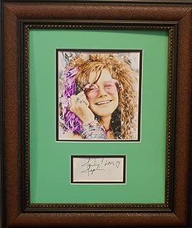 Best janis joplin autograph Reviews