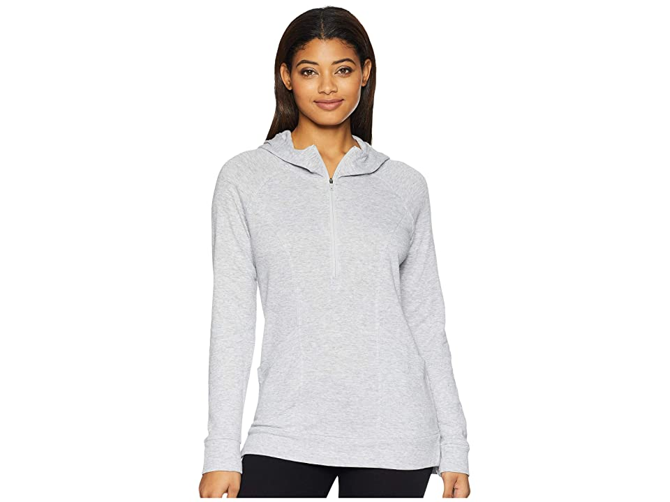The North Face Om 1/2 Zip (TNF Light Grey Heather) Women